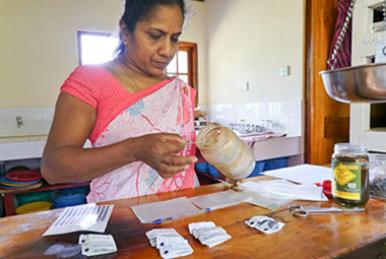 Ayurveda Kur in Sri Lanka - Vorbereitungen